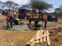 Drift construction in rural Kitui